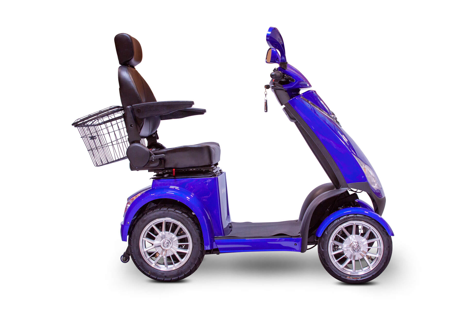 EWheels EW-72 Electric Mobility Scooter Blue