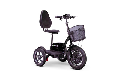 EWheels EW-Big Wheels Electric Mobility Scooter Black 4