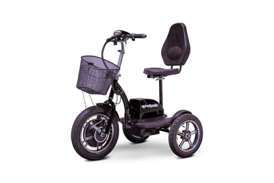 EWheels EW-Big Wheels Electric Mobility Scooter Black 3