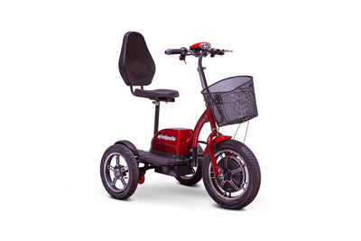 EWheels EW-Big Wheels Electric Mobility Scooter Red 4