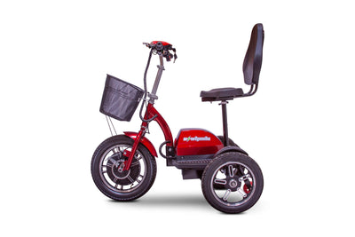 EWheels EW-Big Wheels Electric Mobility Scooter Red 2