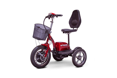 EWheels EW-Big Wheels Electric Mobility Scooter Red 3