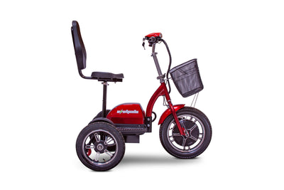 EWheels EW-Big Wheels Electric Mobility Scooter Red