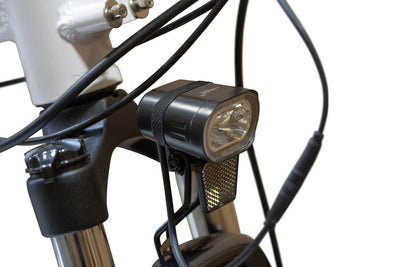 EWheels BAM EW-Step Thru 750W 48V City Cruiser Electric Bike Front Light