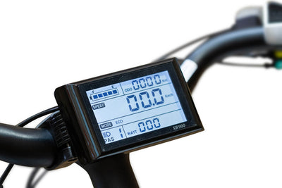 EWheels BAM EW-Step Thru 750W 48V City Cruiser Electric Bike LCD Display