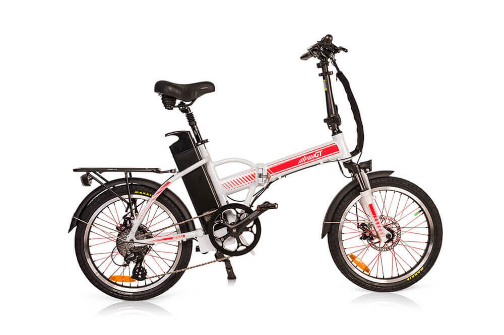 Green Bike Electric Motion Alpha Speed GT Folding Electric Bike