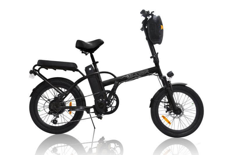 Green Bike Electric Motion Jäger Dune 2 Seater Electric Bike Black