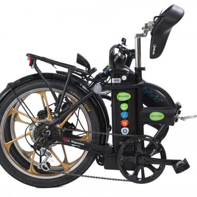 Green Bike Electric Motion City Hybrid HD Folding Electric Bike