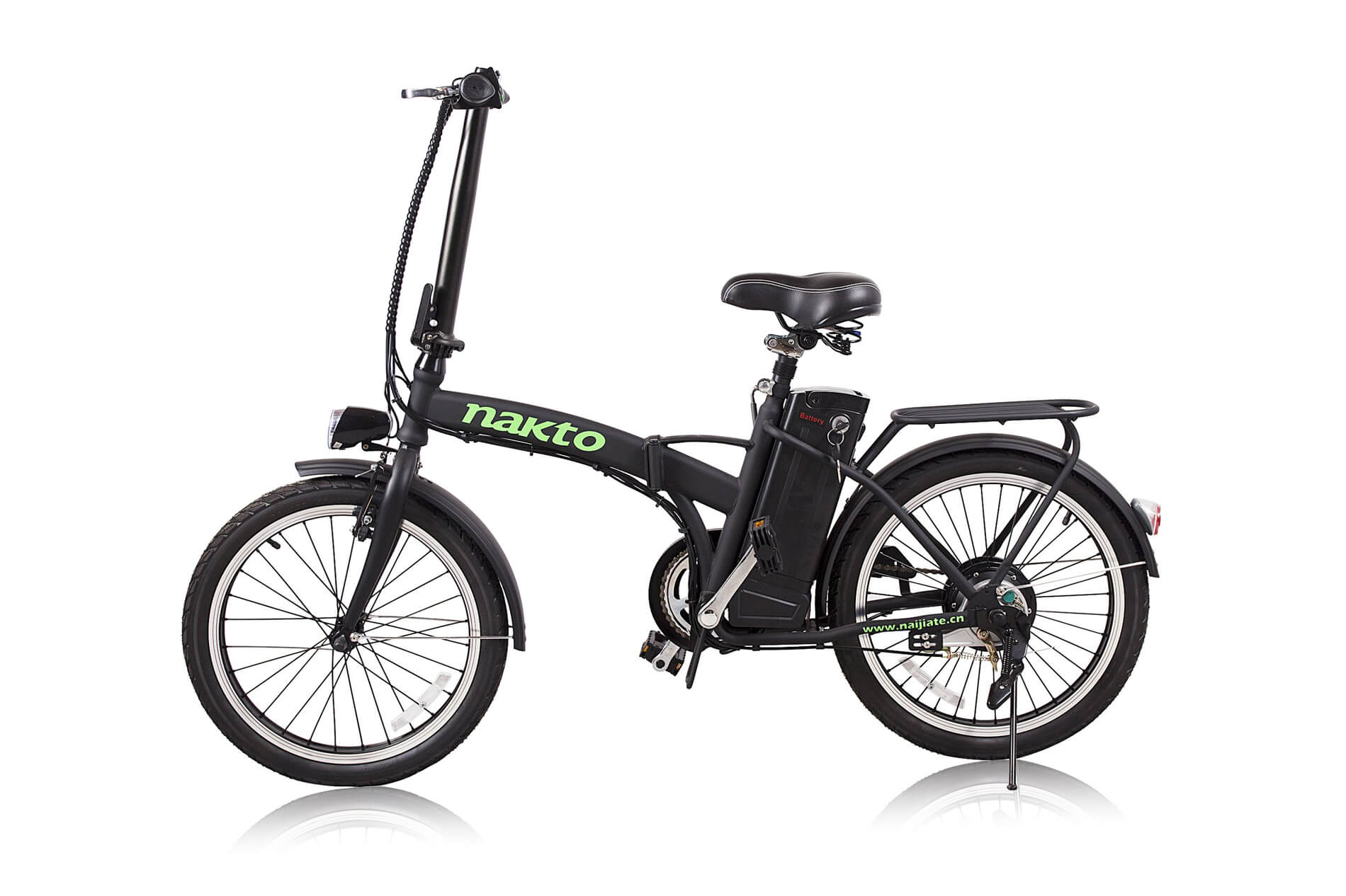 "Nakto Fashion 20"" Folding Electric Bicycle"