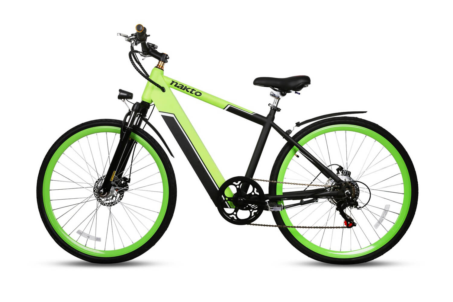 "Nakto Speed Green 26"" Mountain Electric Bicycle"