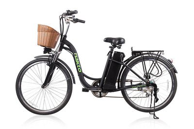 "Nakto Camel 26"" City Electric Bicycle For Women Black"