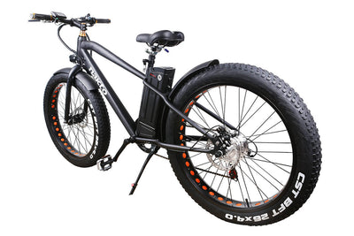 "Nakto Cruiser 26"" 300W Fat Tire Electric Bike Back"