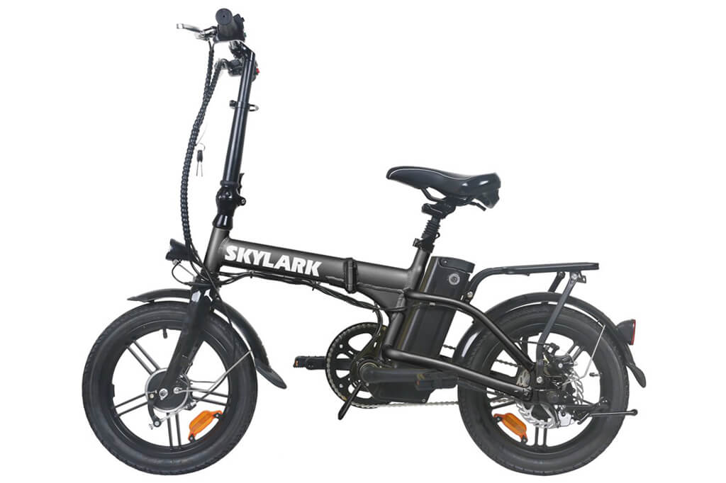 "Nakto Skylark 16"" Folding Electric Bike"