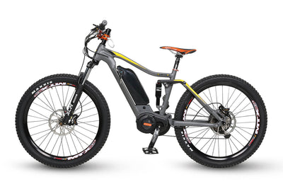 QuietKat 2020 Quantum Full Suspension Fat Tire Electric Mountain Bike 2