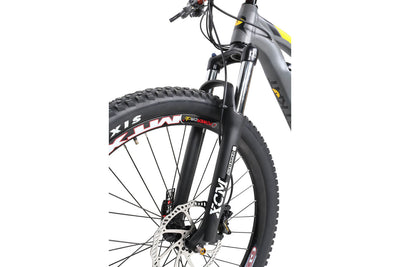 QuietKat 2020 Quantum Full Suspension Fat Tire Electric Mountain Bike