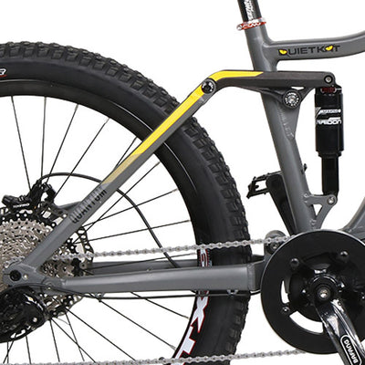 QuietKat 2020 Quantum Full Suspension Fat Tire Electric Mountain Bike Suspension