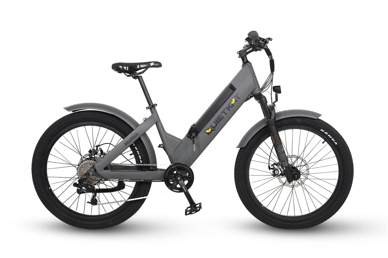 QuietKat 2020 Villager Fat Tire Electric Urban Bike