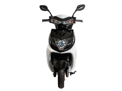 X-Treme Cabo Cruiser Elite 600W Moped Electric Bicycle Scooter Black Front