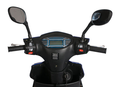 X-Treme Cabo Cruiser Elite 600W Moped Electric Bicycle Scooter LCD Display