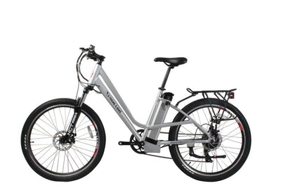 X-Treme Trail Climber Elite Max 36 Volt Step-Through Electric Mountain Bicycle Aluminum 2