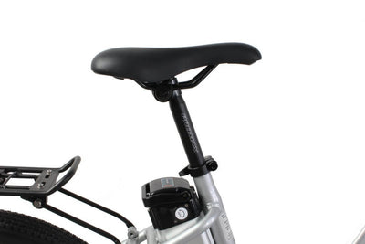 X-Treme Trail Climber Elite Max 36 Volt Step-Through Electric Mountain Bicycle Aluminum Seat
