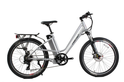 X-Treme Trail Climber Elite Max 36 Volt Step-Through Electric Mountain Bicycle Aluminum