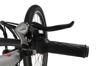 X-Treme Trail Climber Elite Max 36 Volt Step-Through Electric Mountain Bicycle Right Handlebar