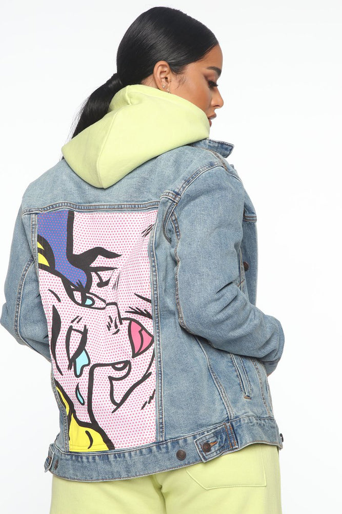 Hard To Say Goodbye Denim Jacket