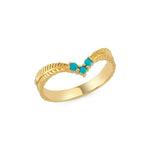 Ally Ring 14K Yellow Gold