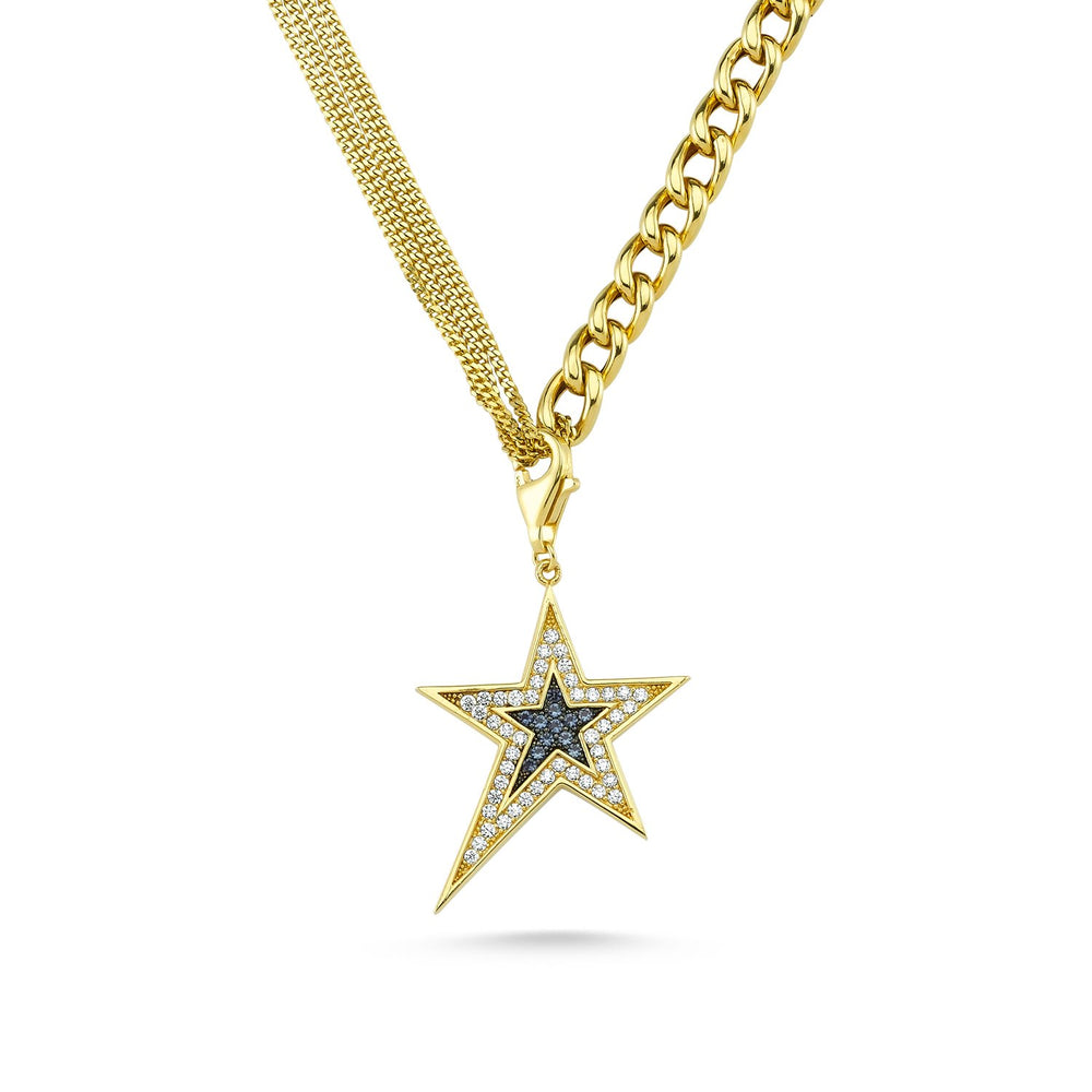Star Flash Necklace - Axariya's Closet