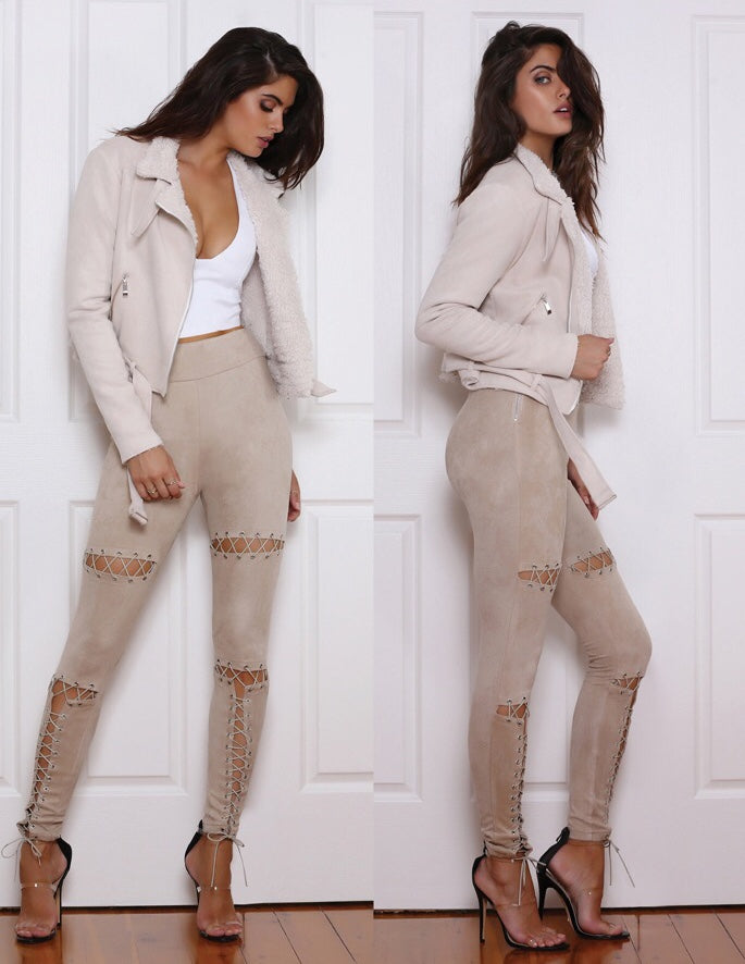Colorado Faux Suede Jacket - Axariya's Closet