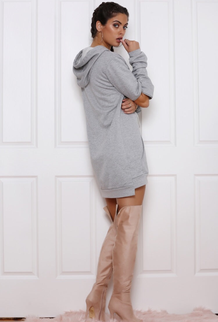 Cut out Detachable Cotton Sweater