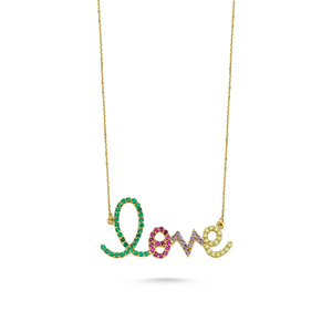 Love Necklace - Axariya's Closet