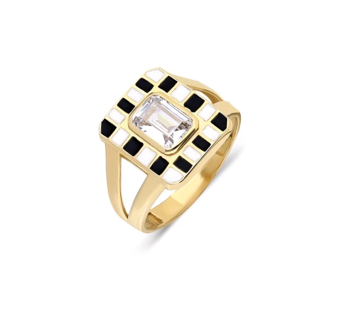 Magic Ring 14K Yellow Gold - Axariya's Closet
