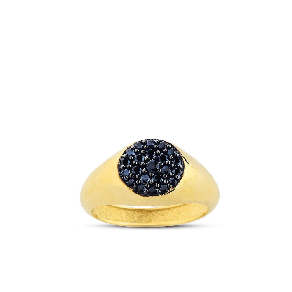Citrus Ring 14K Yellow Gold - Axariya's Closet