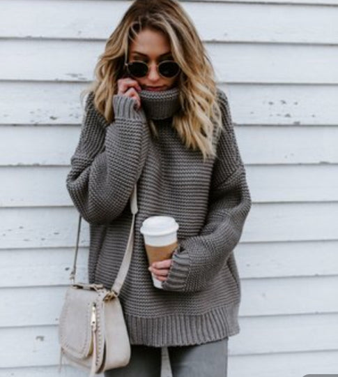 Cozy up Cotton Sweater - Axariya's Closet