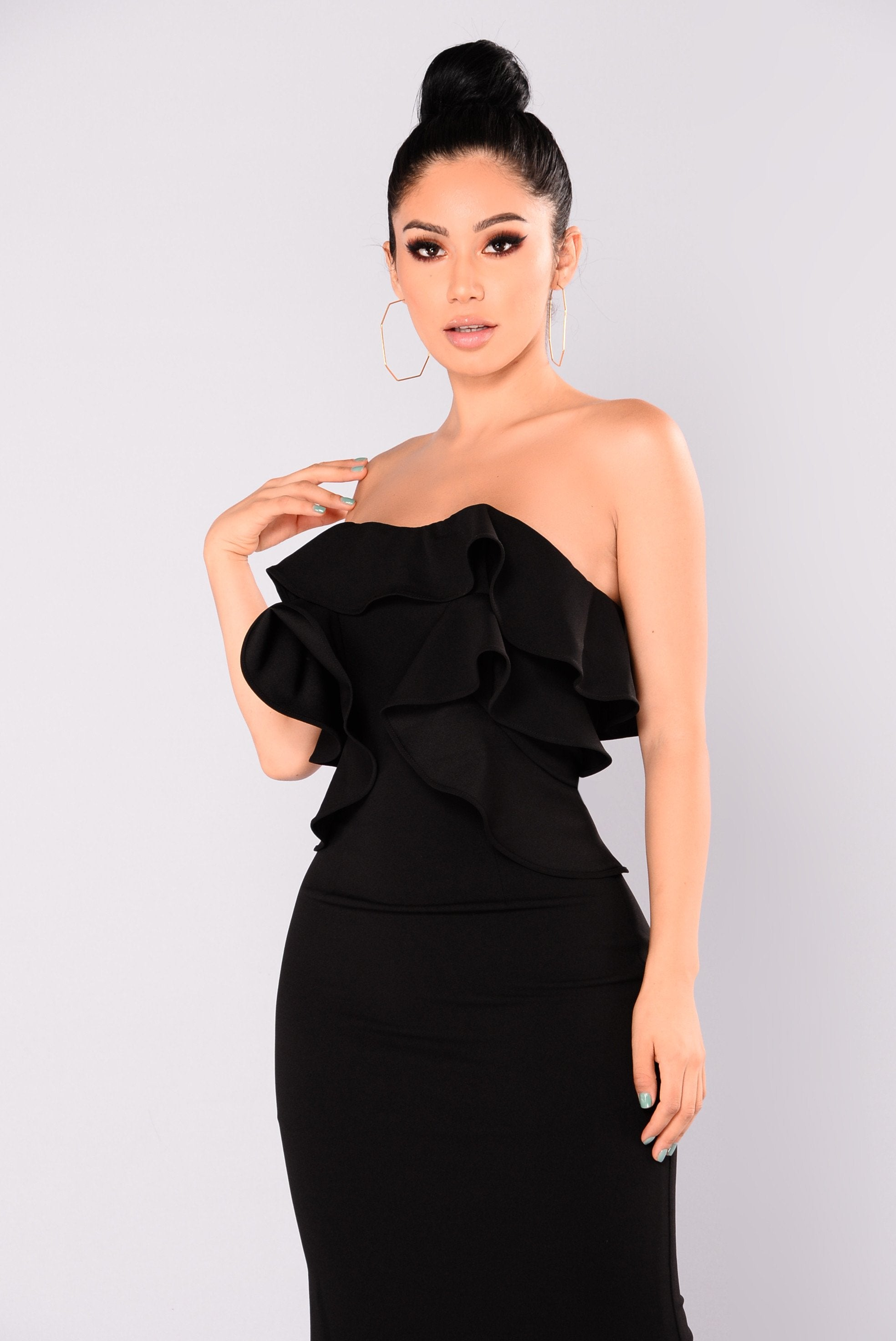 Bianca Ruffle Dress