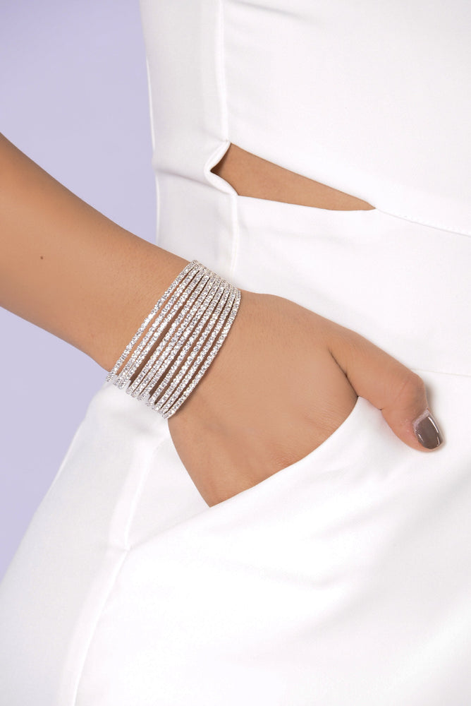 Diamonds Or Nothing Bracelet - Axariya's Closet