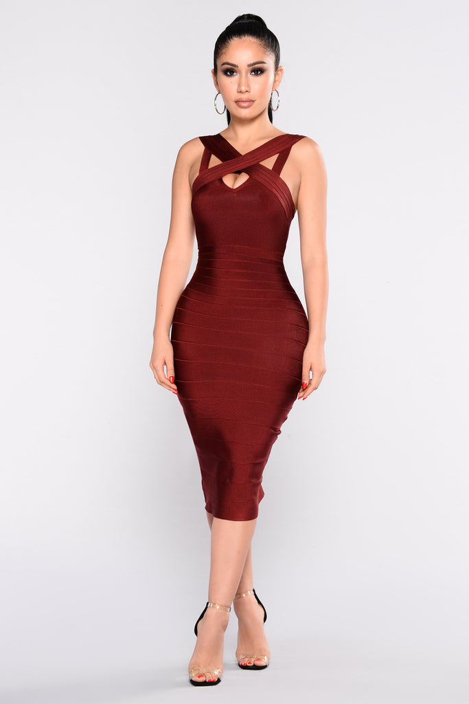 Confidence Bandage Dress