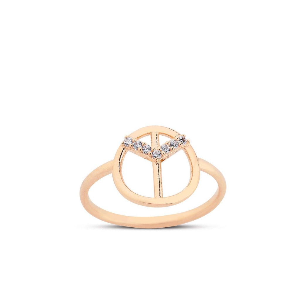Brave Ring 14K Yellow Gold - Axariya's Closet