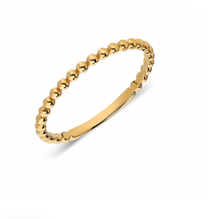 Ball Ring 14K Yellow Gold - Axariya's Closet