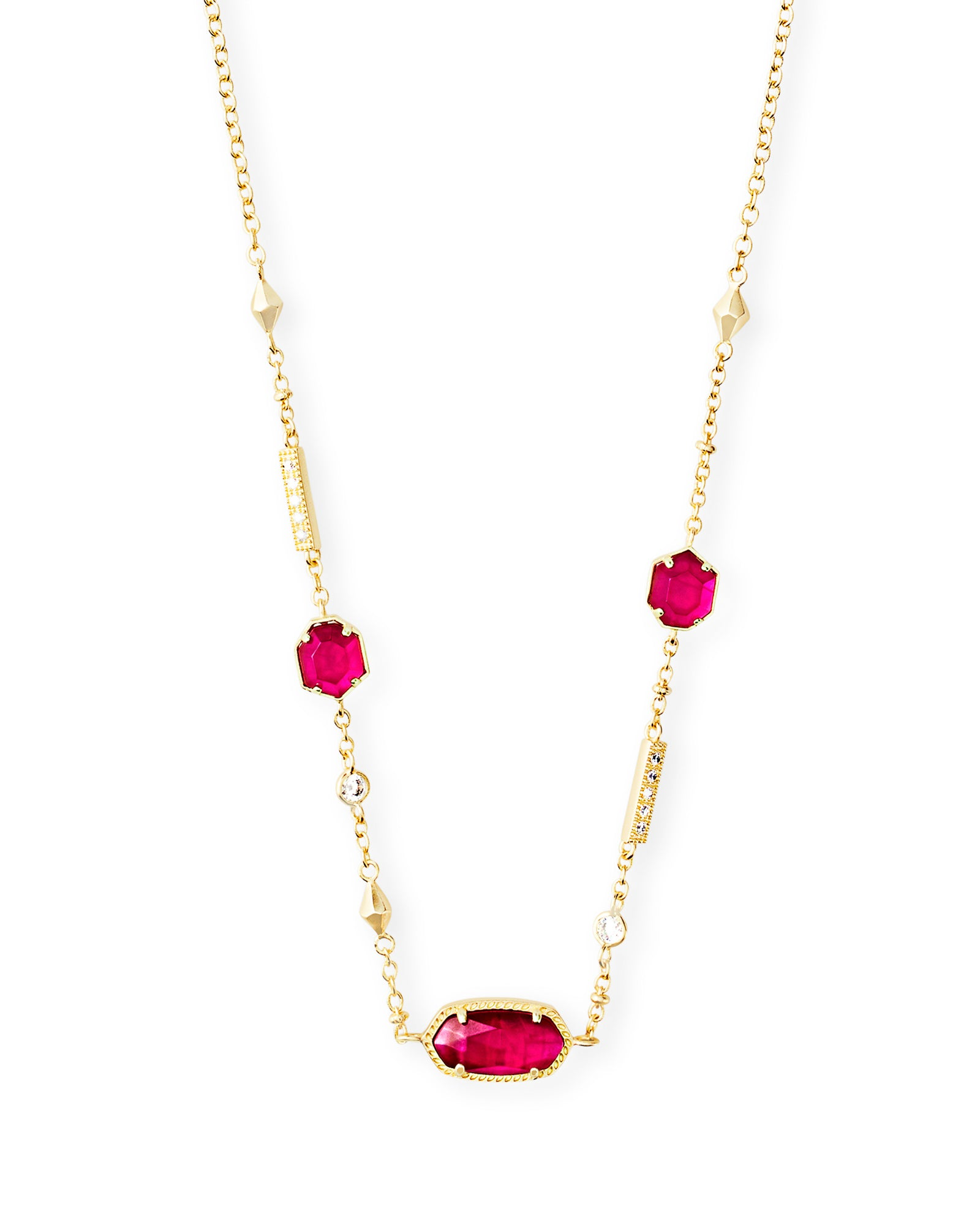 Kendra Scott Maddie Necklace in Gold Azalea Illusion