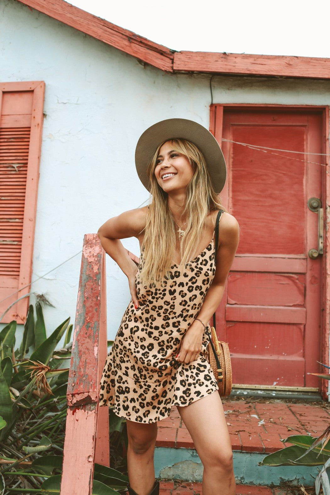 Keely Leopard Dress