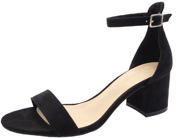 Every Occasion Strappy Heel in Black