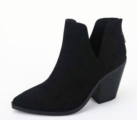 NYC Black Booties