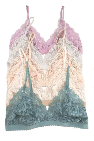 Send Your Love Lace Bralette