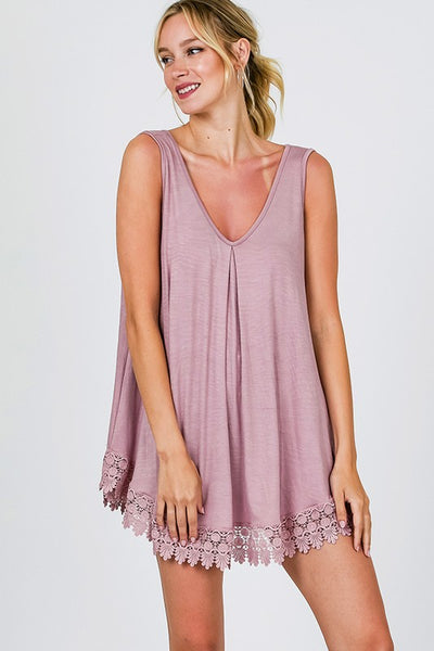 Carefree Tunic Tank Top