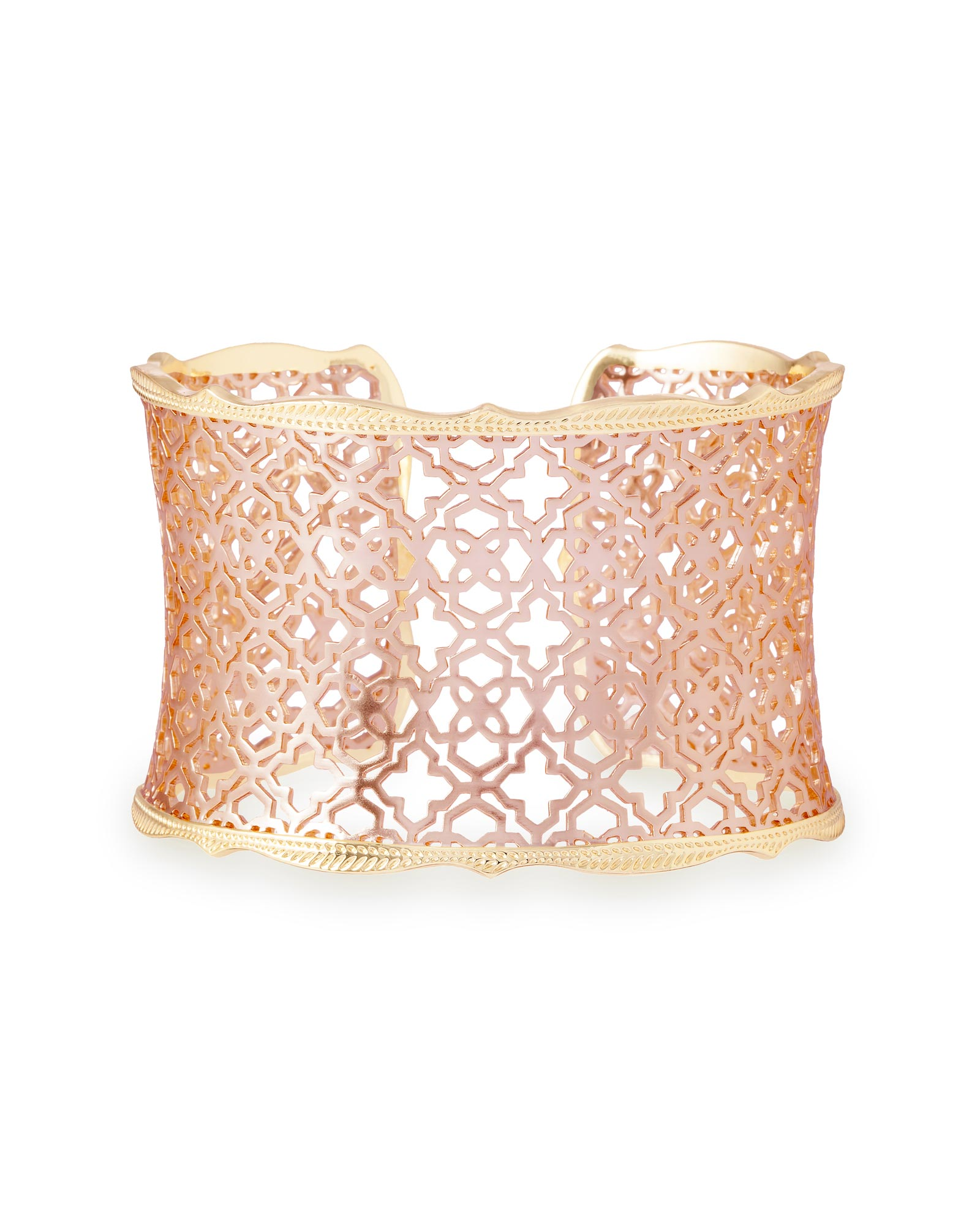 Kendra Scott Candice Gold Bracelet In Rose Gold