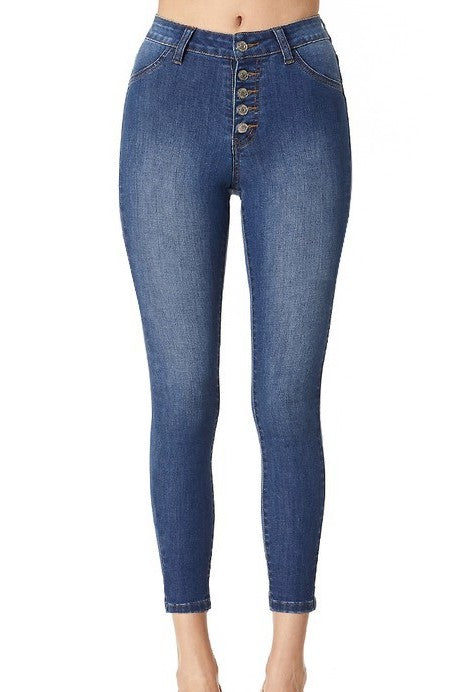 Cabo Cropped High Waist Jeans