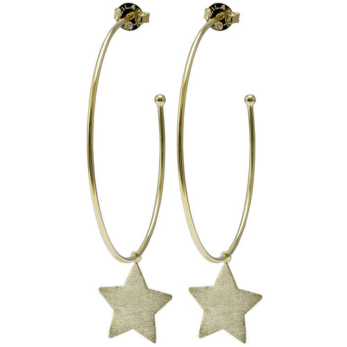 Kendra Scott Phoenix Hoops in Gold